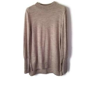 Badgley Mischka sweater merino wool sz Small